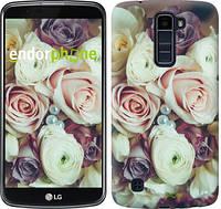 """Чехол на LG K10 / K410 Букет роз """"2692u-349"""""""