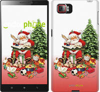 "Чехол на Lenovo Vibe Z2 Pro k920 Дед Мороз с подарками ""219u-284"""