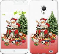 """Чехол на Meizu MX3 Дед Мороз с подарками """"219u-310"""""""