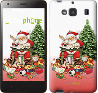 "Чехол на Xiaomi Redmi 2 Дед Мороз с подарками ""219c-98"""