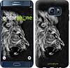 "Чехол на Samsung Galaxy S6 Edge Plus G928 Лев ""1080u-189"""