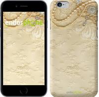 "Чехол на iPhone 6s Кружевной орнамент ""2160c-90"""