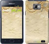 """Чехол на Samsung Galaxy S2 i9100 Кружевной орнамент """"2160c-14"""""""