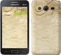 "Чехол на Samsung Galaxy Core 2 G355 Кружевной орнамент ""2160c-75"""