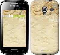 """Чехол на Samsung Galaxy Ace 2 I8160 Кружевной орнамент """"2160u-250"""""""