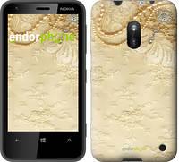 """Чехол на Nokia 230 Кружевной орнамент """"2160u-339"""""""