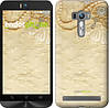"""Чехол на Asus ZenFone Selfie ZD551KL Кружевной орнамент """"2160c-116"""""""