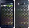 "Чехол на Samsung Galaxy A5 A500H Переливающиеся соты ""498c-73"""