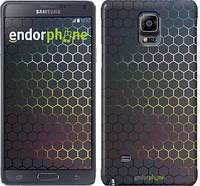 "Чехол на Samsung Galaxy Note 4 N910H Переливающиеся соты ""498c-64"""