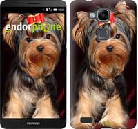 """Чехол на Huawei Ascend Mate 7 MT7-L09 Йоркширский терьер """"929u-140"""""""