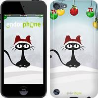 """Чехол на iPod Touch 5 Новогодний кот """"211c-35"""""""