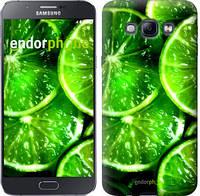 """Чехол на Samsung Galaxy A8 A8000 Зелёные дольки лимона """"852u-135"""""""