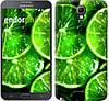 """Чехол на Samsung Galaxy Note 3 Neo N7505 Зелёные дольки лимона """"852u-136"""""""