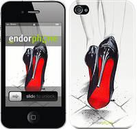 "Чехол на iPhone 4 Devil Wears Louboutin ""2834c-15"""