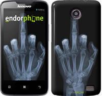 """Чехол на Lenovo A820 Рука через рентген """"1007c-68"""""""