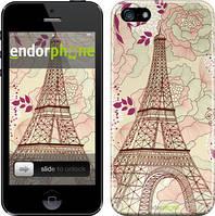 """Чехол на iPhone SE Романтика Парижа """"2064c-214"""""""