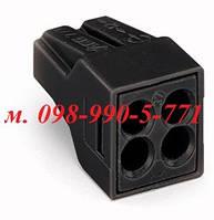 Строительно-монтажные клеммы для распределительных коробок на 4 провода
