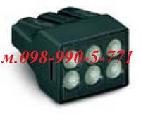 Строительно-монтажные клеммы для распределительных коробок на 6 проводов.