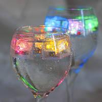 Декоративный светодиодный лёд с RGB свечением   FL101