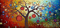 Схема для вышивки бисером Сказочное дерево КМР 3086