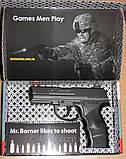 Пневматический пистолет Borner W3000M (металл), фото 5