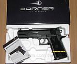 Пневматический пистолет Borner Power Win 304, фото 5