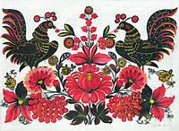 "Вышивка ""Петушок"" - символ удачи и богатства."