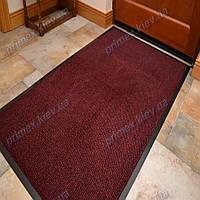 Ковер грязезащитный Стандарт 90х150см. красный темный