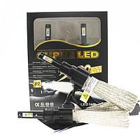 Комплект LED ламп H3 6500K 36W 3200lm с пассивным охлаждением