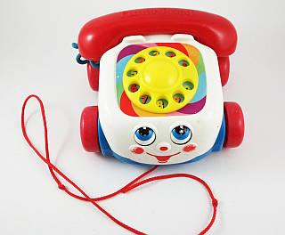 Игрушка - каталка веселый телефон Fisher-Price
