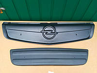 Зимняя накладка на решетку радиатора Opel Vivaro / Опель Виваро 2006>2014