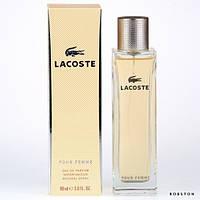 Женские духи Lacoste Pour Femme edp 90 ml