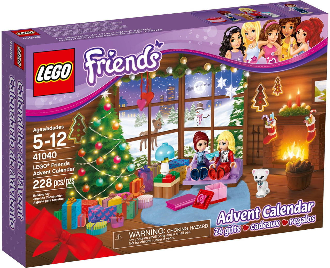 LEGO 41040 Friends - Різдвяний календар (Лего Френдс Новогодний календарь, LEGO Friends Advent Calendar)
