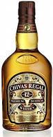 Виски Chivas Regal 12 YO Premium Scotch (Чивас Регал 12 лет) 0,75 л.