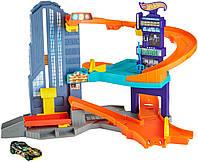 Трек трёхуровневый Hot Wheels Speedtropolis Playset.