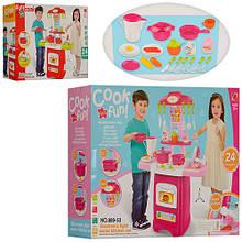 Кухня 889-52-53 посуд, продукти, 24 предмети, 2 види, муз., світло, бат., кор., 50-36-13 див.