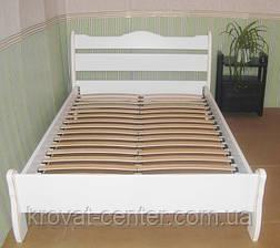 """Белая двуспальная кровать """"Грета Вульф"""", фото 2"""