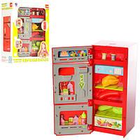 Холодильник XS 14006   22,5см, муз, свет, продукты, на бат-ке, в кор-ке,21-27-10см