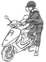 Запуск двигателя мопеда или мотоцикла (как завести мопед)