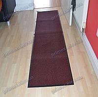 Ковер грязезащитный Стандарт 90х250см. красный темный