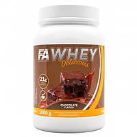 Протеин WHEY DELICIOUS 1000 г вкус Шоколад