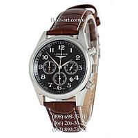Мужские наручные часы Longines Master Collection Chronograph Brown/Silver/Black