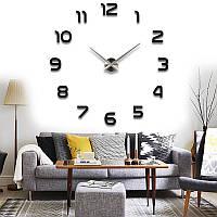 Настенные часы купить недорого Европейские Черные Зеркальные