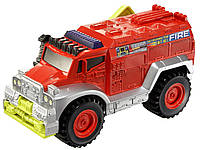 Пожарная машина Matchbox Power Shift Fire Truck.