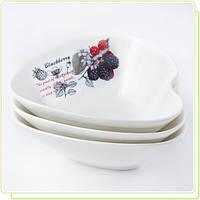 Набор керамических пиал 3 шт Ежевика Maestro MR-10025-51