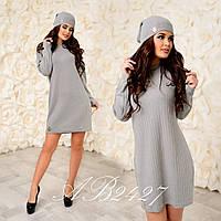 Платье и шапка ЮК304