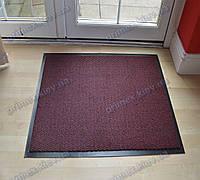 Ковер грязезащитный Стандарт 120х150см. красный темный