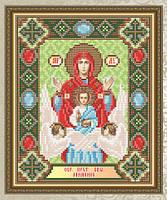 НАБОР для выкладки АЛМАЗНОЙ ТЕХНИКОЙ «Знамение Образ Пресвятой Богородицы»