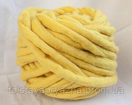 Товста пряжа ручного прядіння Elina Tolina 100% вовна (оброблена), фото 3