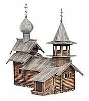 Сборная модель из картона Часовня Архангела Михаила (о. Кижи)( в коробке)